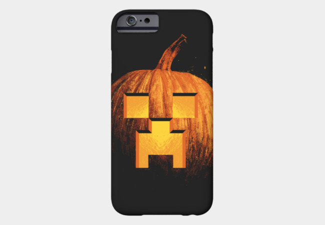 Crafting Pumpkins Phone Case - Design By Humans