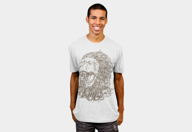 King of The Jungle T-Shirt - Design By Humans