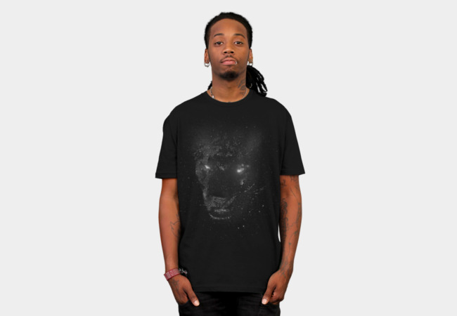Space Panther T-Shirt - Design By Humans