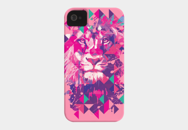 Lion's life Phone Case - Design By Humans