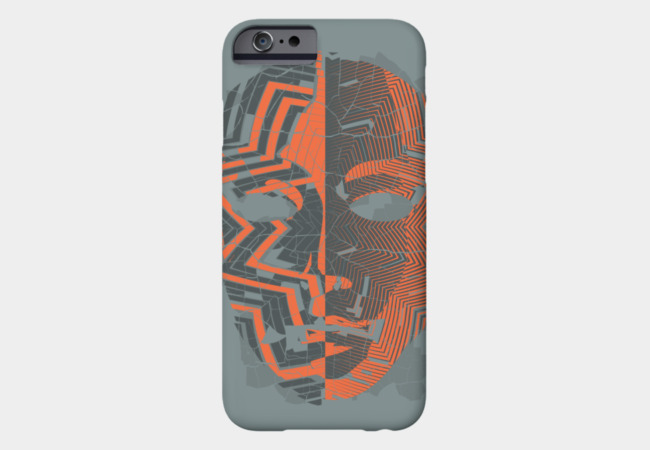 Broken Mask Phone Case - Design By Humans