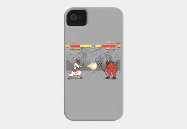 The Final Battle Phone Case - Design By Humans