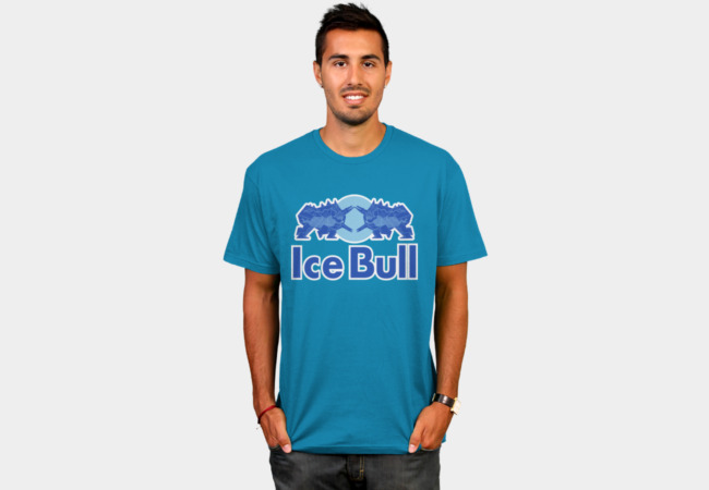 Ice Bull T-Shirt - Design By Humans