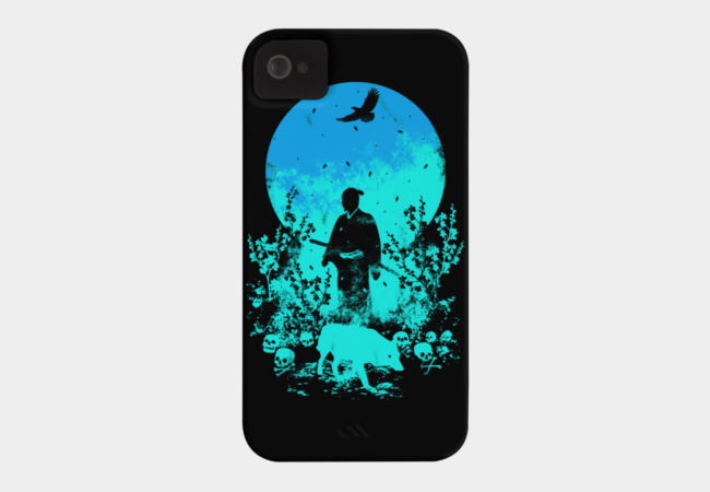 Blue Moon Phone Case - Design By Humans