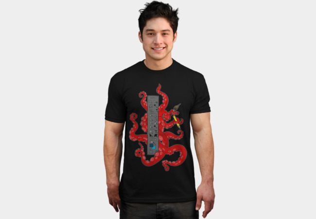 Octopus PS T-Shirt - Design By Humans