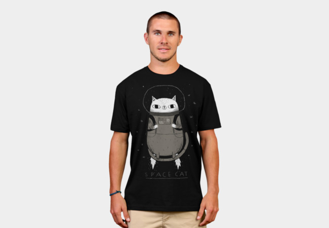 space cat T-Shirt - Design By Humans