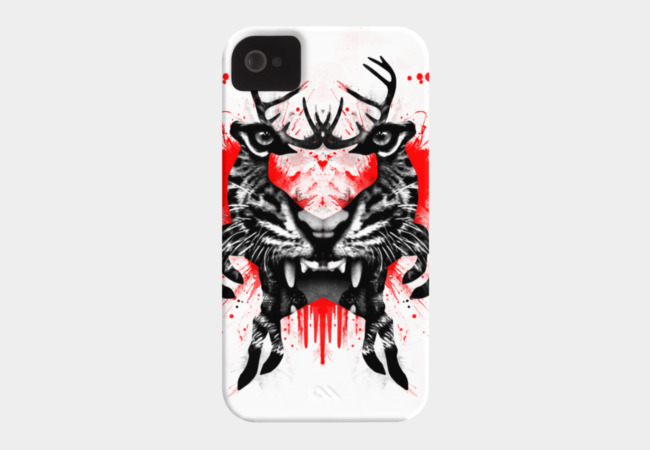 Predator ink blot Phone Case - Design By Humans