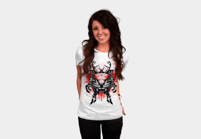 Predator ink blot T-Shirt - Design By Humans