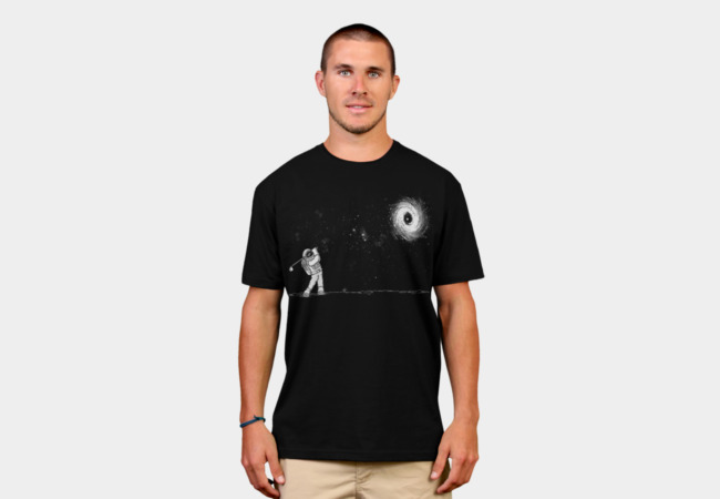 Black Hole In One T-Shirt - Design By Humans