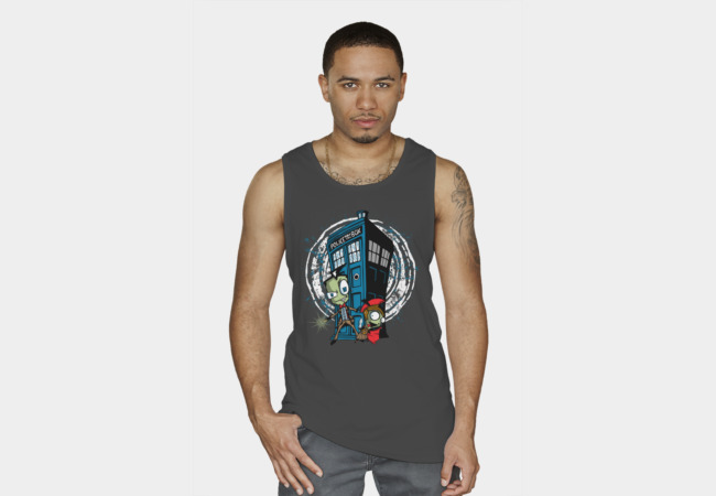 The Irken's Have the Blue Box Tank Top - Design By Humans