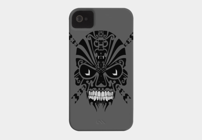 The Devil Inside - Cool Skull Phone Case - Design By Humans