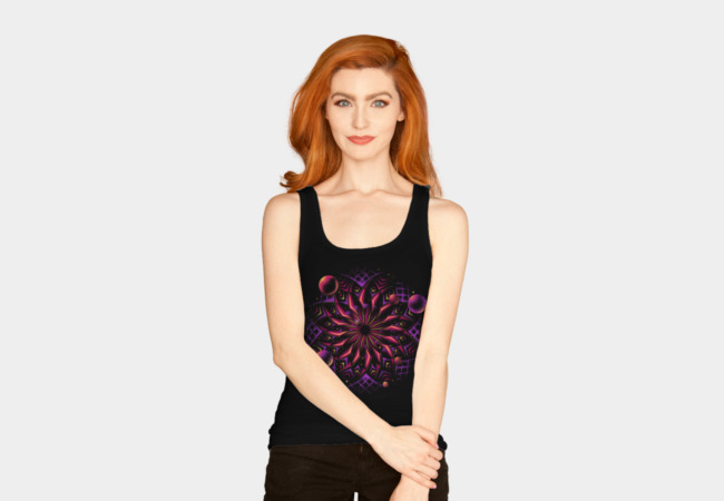 The Cosmic Eye Tank Top - Design By Humans