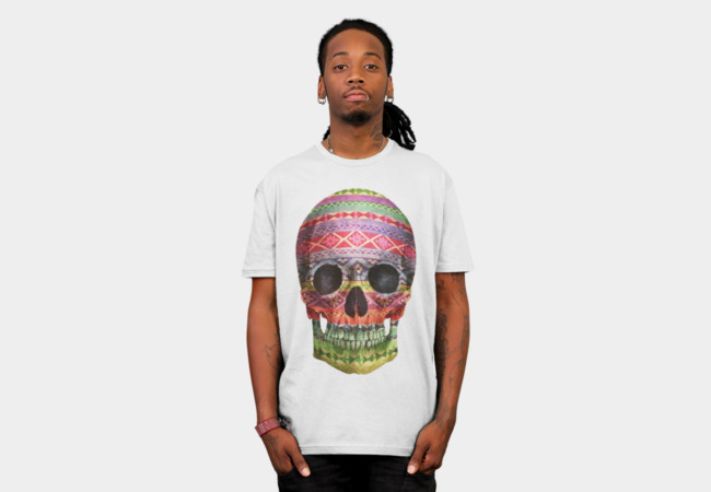 Navajo Skull T-Shirt - Design By Humans