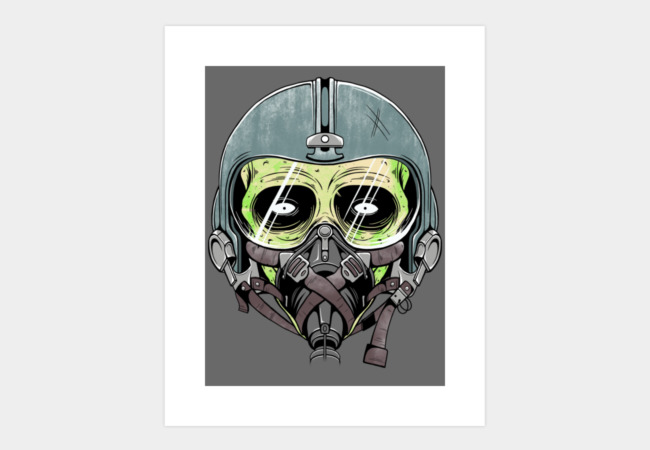 Z - PILOT Art Print - Design By Humans