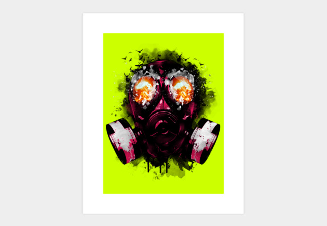 EXPLODE Art Print - Design By Humans