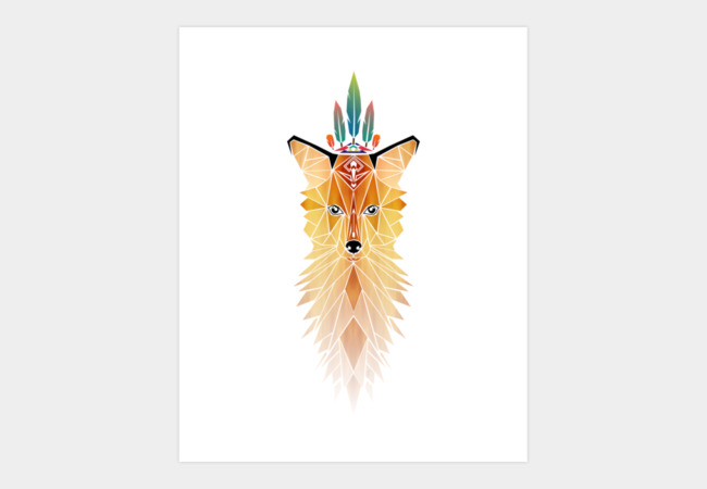 fox spirit Art Print - Design By Humans
