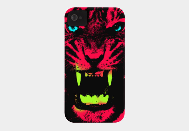 Tiger Pop T-shirt Phone Case - Design By Humans