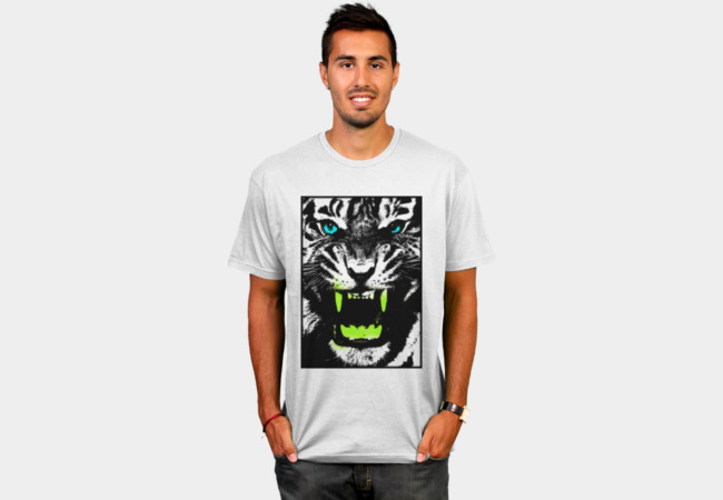 Tiger Pop T-shirt T-Shirt - Design By Humans