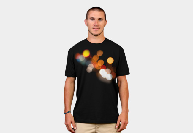 Orbs of light T-Shirt - Design By Humans