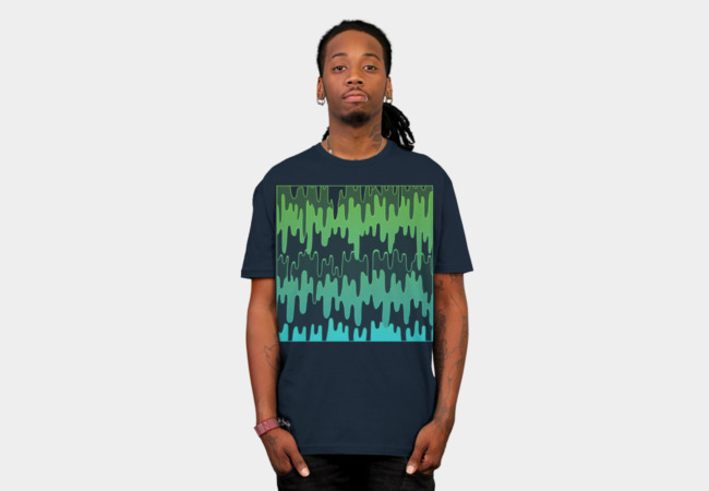 Trippy Drips T-Shirt - Design By Humans