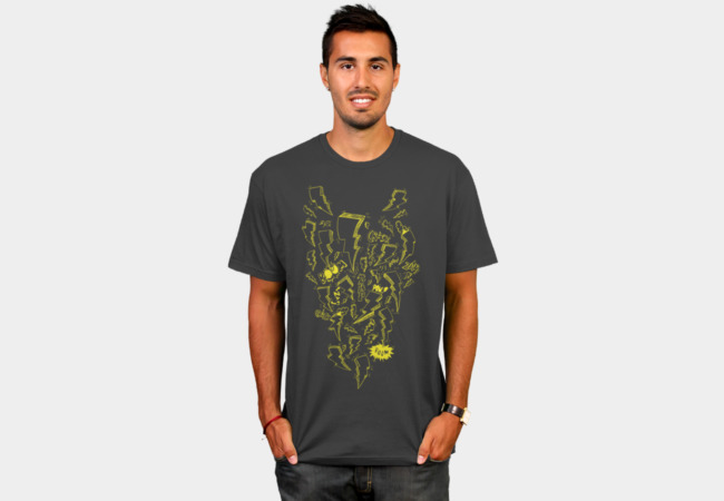 Lightning And Stuff T-Shirt - Design By Humans