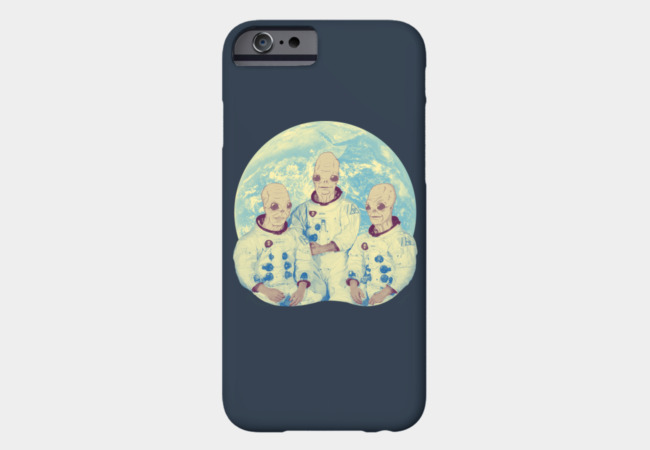 Earth Landing Phone Case - Design By Humans