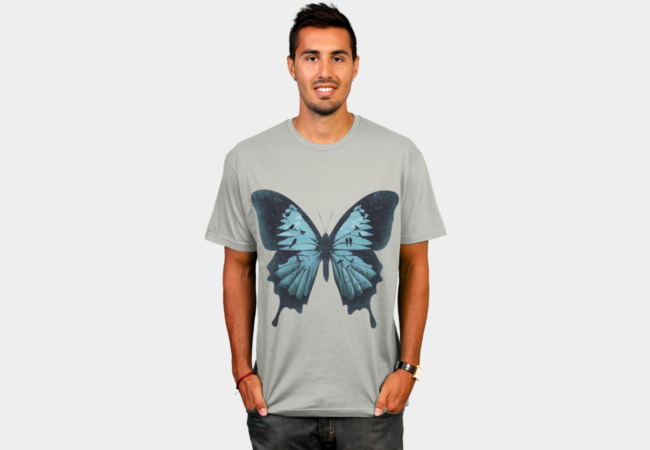 Papilio ulysses T-Shirt - Design By Humans