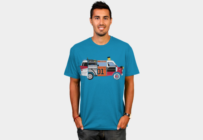 The Pop Chop Van T-Shirt - Design By Humans