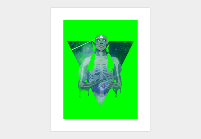 Brain Damage Art Print - Design By Humans