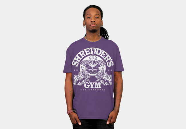 Shredder's Gym T-Shirt - Design By Humans