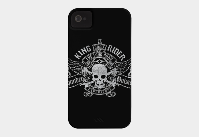 KING RIDER Phone Case - Design By Humans