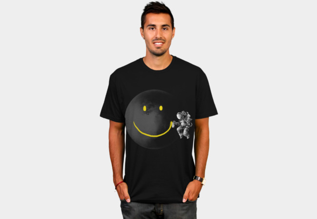 Make a Smile T-Shirt - Design By Humans