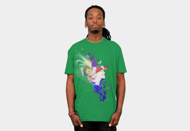 Colorful Mind T-Shirt - Design By Humans