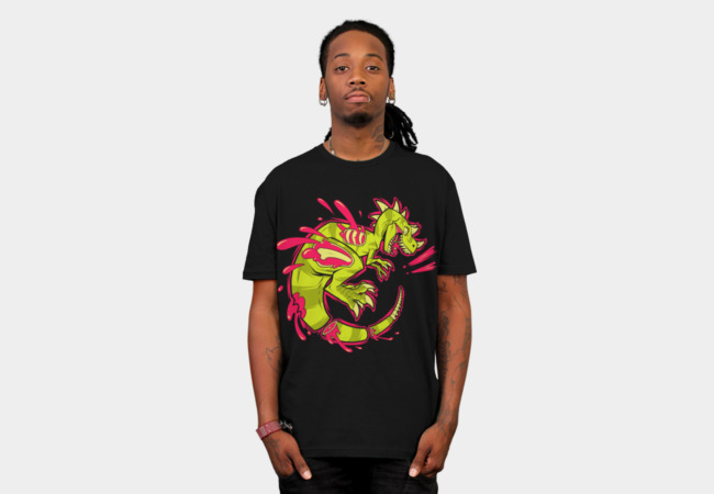 Dino Damage T-Shirt - Design By Humans