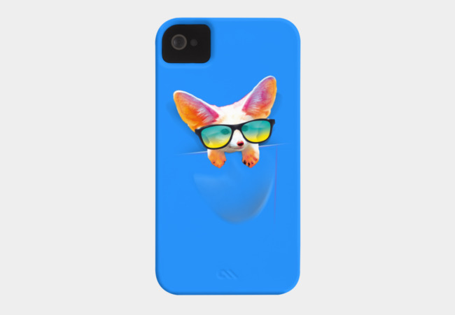 Pocket Foxy Breeze Phone Case - Design By Humans