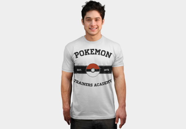 Pokemon Trainers Academy T-Shirt - Design By Humans