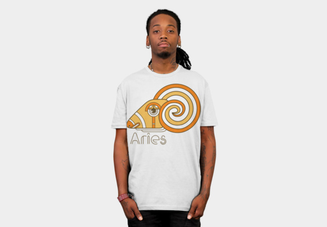 Aries Deco T-Shirt - Design By Humans