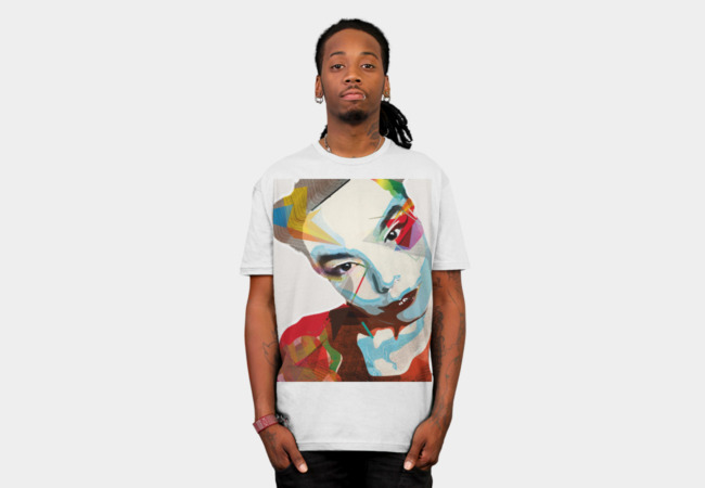 Bjork T-Shirt - Design By Humans