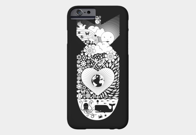 Peace Bomb Phone Case - Design By Humans