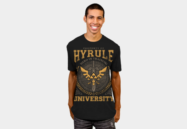 Hyrule University T-Shirt - Design By Humans