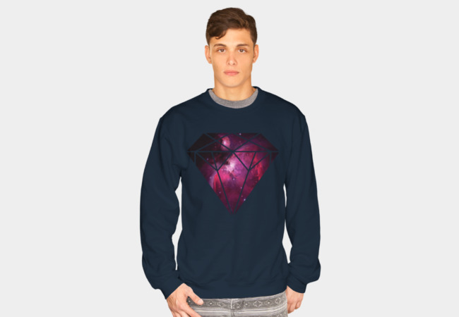 Galaxy Diamond Sweatshirt - Design By Humans