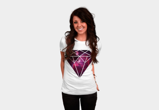 Galaxy Diamond T-Shirt - Design By Humans