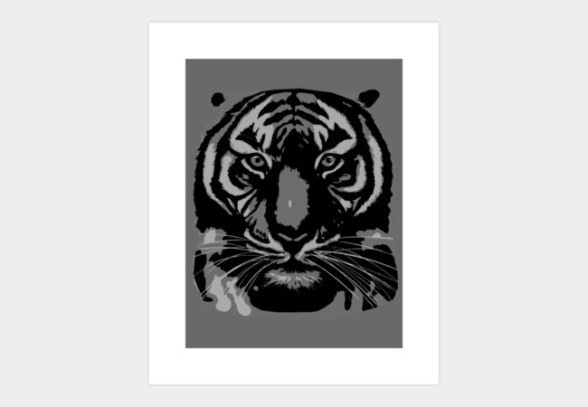 Tiger's stare Art Print - Design By Humans
