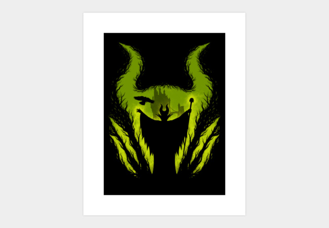 The Evil Fairy Art Print - Design By Humans