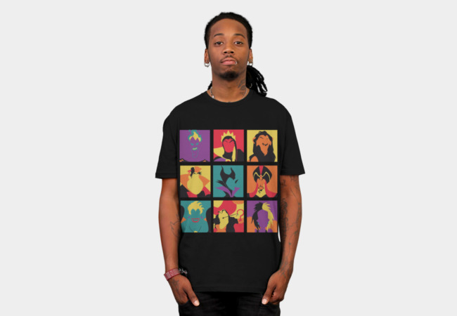 Villains pop T-Shirt - Design By Humans