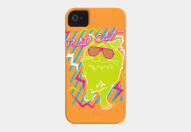 Rad Cat Phone Case - Design By Humans