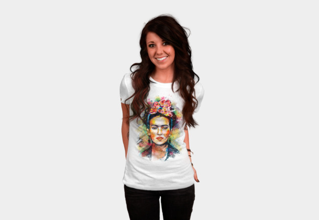Frida Kahlo T-Shirt - Design By Humans