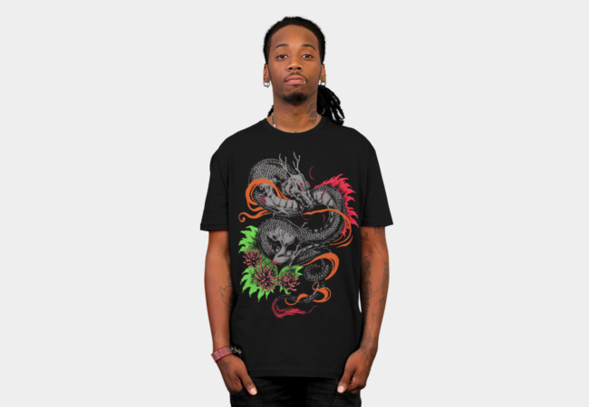 Dragon T-Shirt - Design By Humans