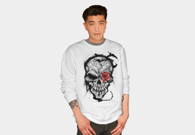 Day of the Dead Sweatshirt - Design By Humans
