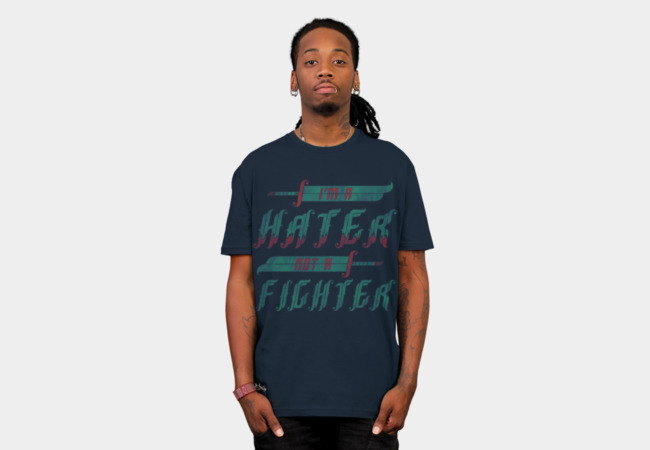 Hater T-Shirt - Design By Humans